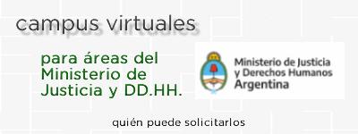Campus Virtuales Ministerio de Justicia y Derechos Humanos